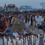Candle light vigil in Satyagraha