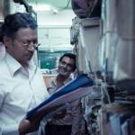 Irrfan Khan and Nawazuddin Siddiqui in The Lunchbox