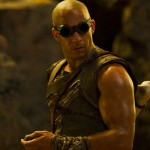 Vin Diesel as Riddick in the movie Riddick