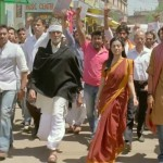 On the march in Satyagraha