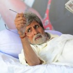 Amitabh Bachchan in the movie Satyagraha