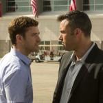 Justin Timberlake and Ben Affleck in Runner Runner