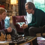 Father (Billy Nighy) and son (Domhnall Gleeson) bonding in the movie About Time