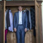 Domhnall Gleeson as Timmy in the movie About Time