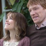 Rachel McAdams and Domhnall Gleeson in the movie About Time
