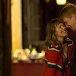 Actors Rachel McAdams and Domhnall Gleeson in About Time