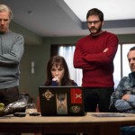 Benedict Cumberbatch, Carice van Houten, Daniel Brühl and Moritz Bleibtreu in The Fifth Estate
