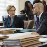Laura Linney and Stanley Tucci in The Fifth Estate