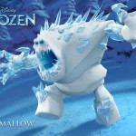 The Marshmallow snow guard from Frozen