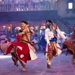 Lots of song and dance in the movie Ram Leela