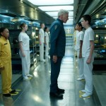 Harrison Ford looking totally out of place in Ender's Game