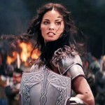 Jaimie Alexander as Sif, a totally superfluous character in Thor: The Dark World