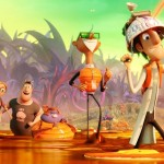 Scene from the animated film Cloudy With A Chance of Meatballs 2