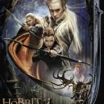 The Hobbit: The Desolation of Smaug alternative movie poster