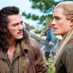Luke Evans and Orlando Bloom in The Hobbit: The Desolation of Smaug