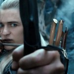 Actor Orlando Bloom in the film The Hobbit: The Desolation of Smaug