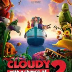 Poster of the film Cloudy With A Chance of Meatballs 2