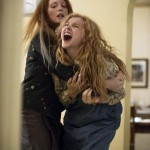 Julianne Moore and Chloe Grace Moretz in the film Carrie