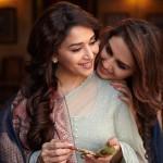 Mahduri Dixit-Nene and Huma Qureshi cosy up in Dedh Ishqiya