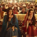 Huma Qureshi and Madhuri Dixit-Nene in Dedh Ishqiya