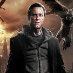 Aaron Ekhart in I, Frankenstein