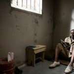 In prison in Mandela: Long Walk To Freedom