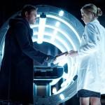Aaron Ekhart and Yvonne Strahovski in I, Frankenstein