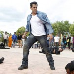 Salman Khan trashes the bad guys and kicks vehicles in Jai Ho