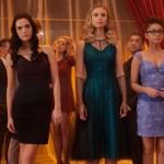 The obligatory high school dance scene in Vampire Academy