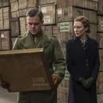 Matt Damon and Cate Blanchett in The Monuments Men
