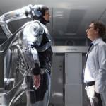 Joel Kinnaman and Gary Oldman in Robocop