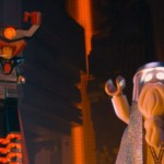 Lord Business and Vitruvius in The LEGO Movie