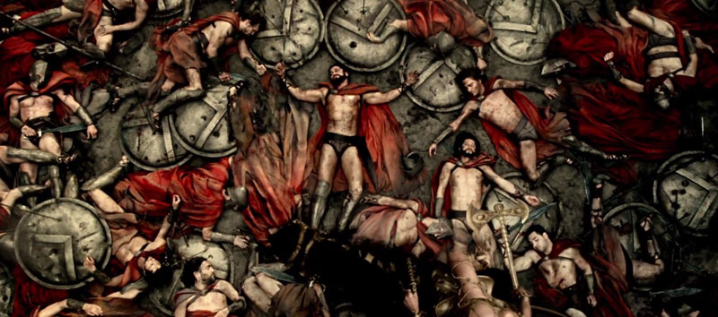 Still images but so evocative in 300: Rise of an Empire