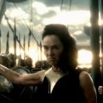 Lena Headey as the avenging Spartan queen Gorgo in 300: Rise of an Empire
