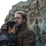 Actors Jennifer Connelly and Russell Crowe in Noah