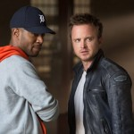 Scott Mescudi and Aaron Paul in Need For Speed