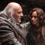 Anthony Hopkins and Leo McHugh Carroll in Noah