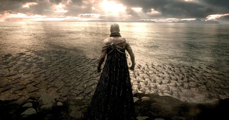 Rodrigo Santoro as Xerxes in 300: Rise of an Empire