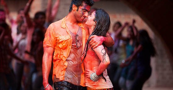 Arjun Kapoor and Alia Bhatt in 2 States