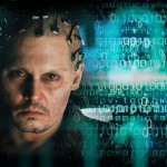 Johnny Depp as well one of the less weird characters he's played in Transcendence