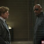 Robert Redford and Samuel L Jackson in Captain America: The Winter Soldier