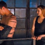 The mandatory boy takes off his shirt scene to appeal to the screaming (brainless?) young girls in Divergent