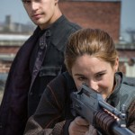 Theo James looks on as another young adult is taught how to kill in Divergent