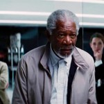 Morgan Freeman does his serious face in Transcendence