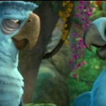 Eduardo (Andy Garcia) and Jewel (Anne Hathaway) in Rio 2