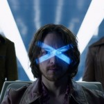 Nicholas Hoult, James McAvoy and Hugh Jackman in X-Men Days of Future Past