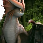 Dragons are playful creatures in How To Train Your Dragon 2