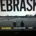 Screenshot of the DVD Main Menu of Nebraska
