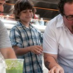 John Leguizamo, Emjay Anthony and Jon Favreau in the movie Chef
