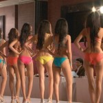 Contestants at the Miss India pageant in The World Before Her